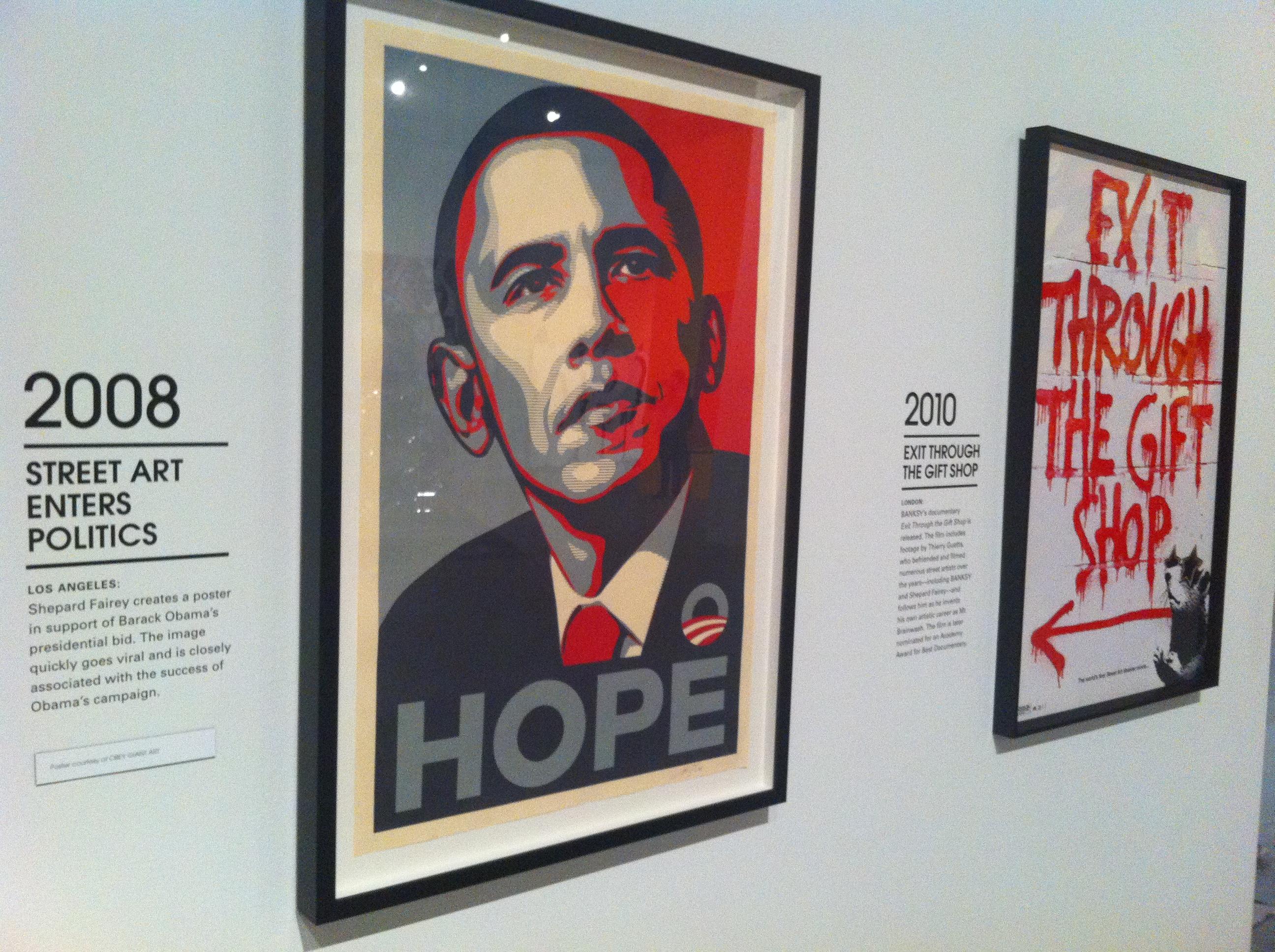 Streetart in Politics / Streetart in Film