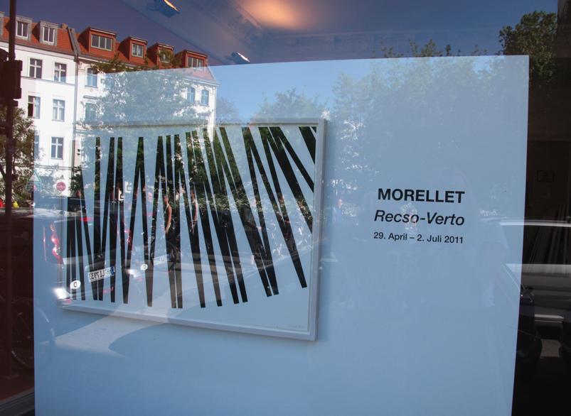 Francois Morellet at Galerie Jordan Seydoux