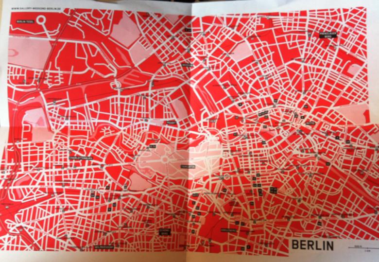 Gallery Weekend Map