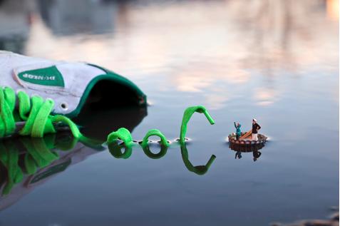 © Slinkachu, Fantastic Voyage
