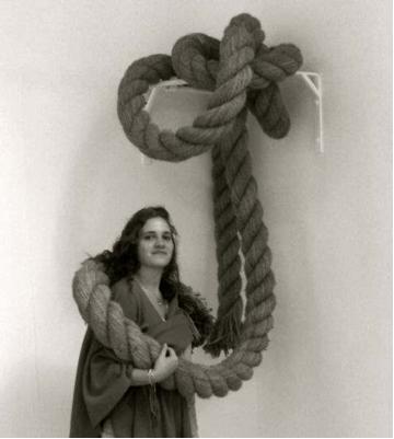 Camilla Emson/ Testing Stability, 2011, Rope