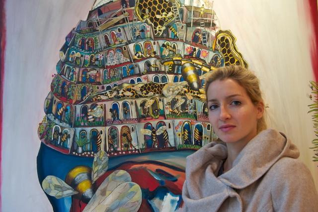 Celina Teague/ Hey Ho, oil on canvas, 2011