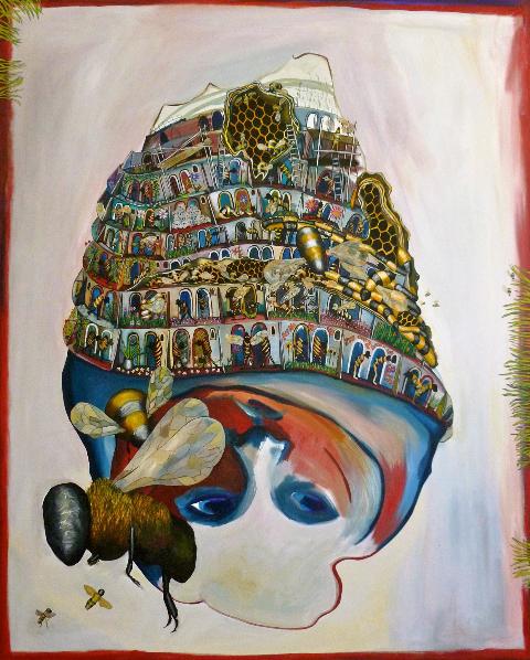 Hey Ho, oil on canvas, 2011