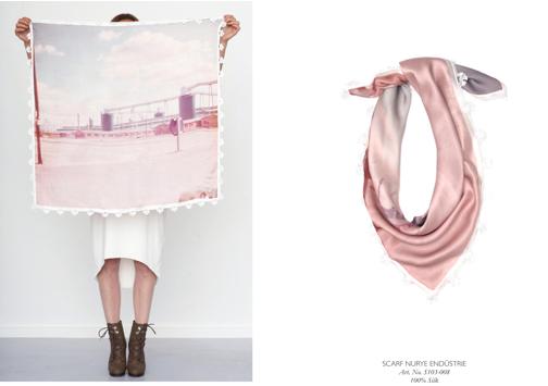 Rita in Palma, silk scarf
