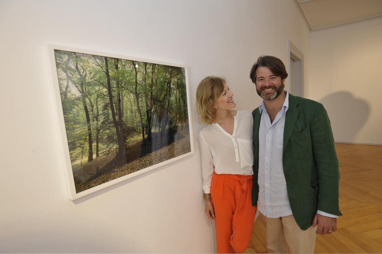 Christian und Jeannette zu Fürstenberg (Fotoarbeit Schwarzwald von Michael Sailstorfer)