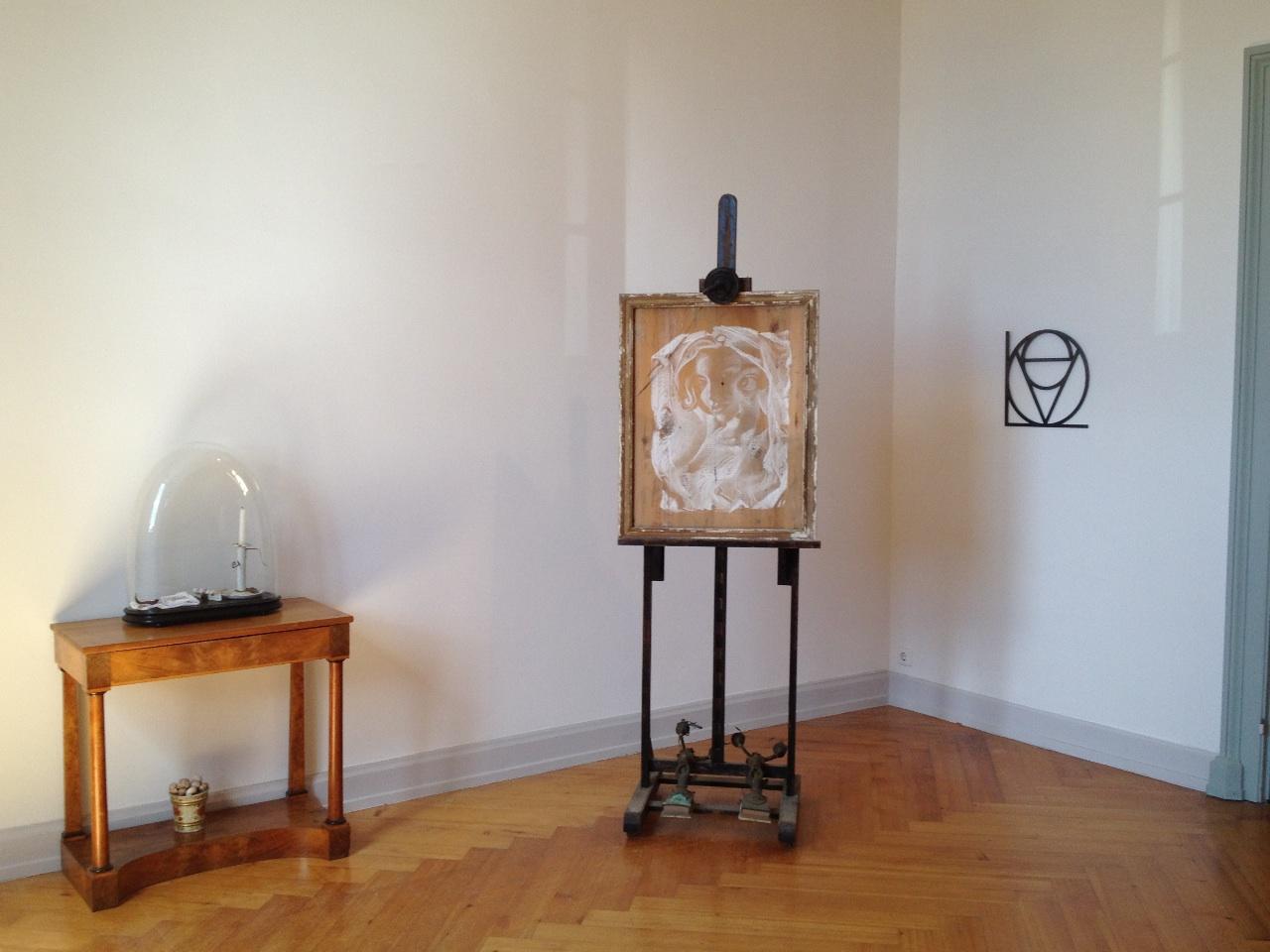 Installationsansicht der Arbeiten von Dirk Bell (©Dirk Bell;Galerie BQ,Berlin)