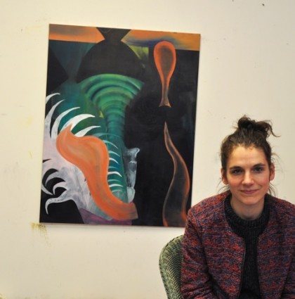 Young Creatives: Marie Aly is a painter!