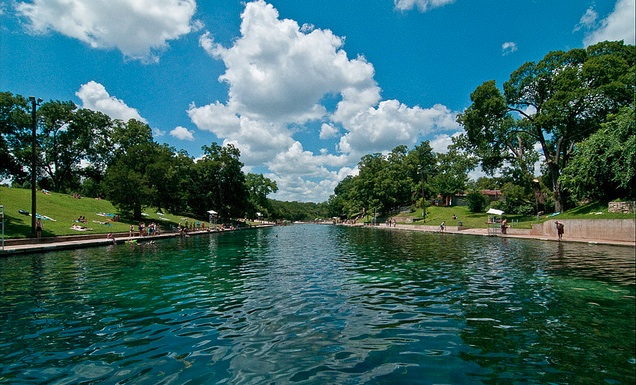 Out and About: Barton Springs