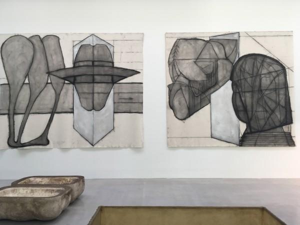 Klaus Rinke, Derzeit Exhibition, Skulpturenpark, Waldfrieden, ©#horstundedeltraut