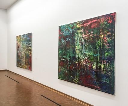 Gerhard Richter, Abstraktes Bild, Öl auf Leinwand, 2016, Photo © Pauen