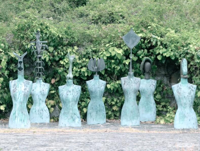 Daniel Spoerri Garden