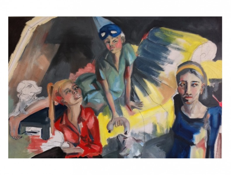In the studio… Sophie Holstein