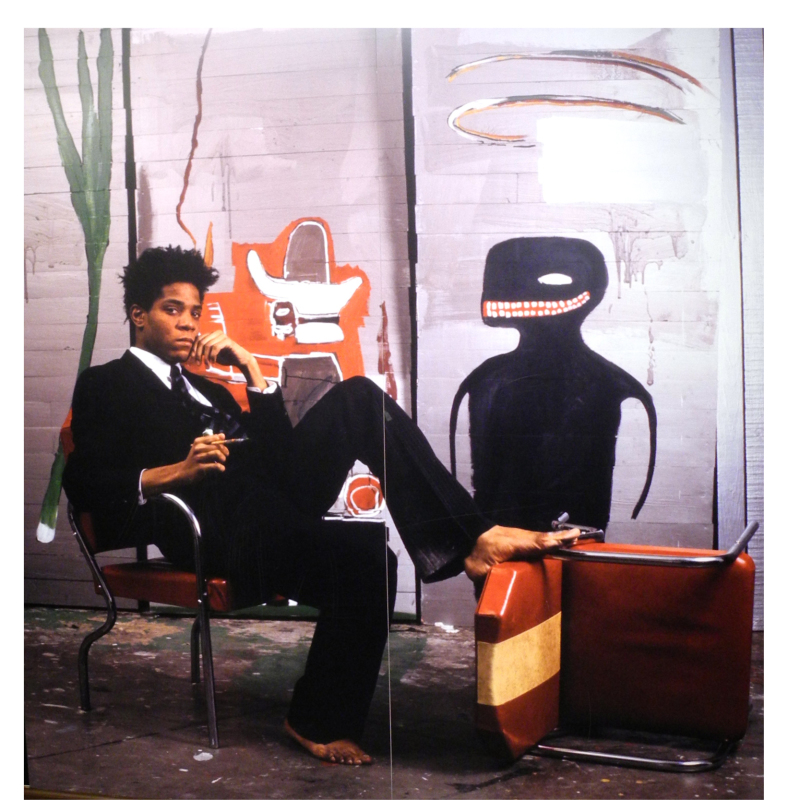 Jean-Michel Basquiat Exhibition photo © Alex Moers