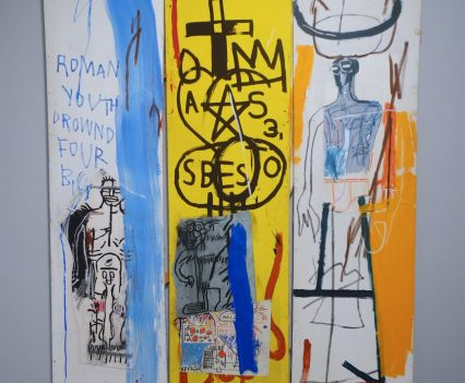 Jean-Michel Basquiat, Four Big, 1982, photo ©Alexander Moers