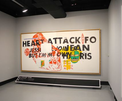 Jean-Michel Basquiat, Heart Attack, 1984, photo ©Alexander Moers