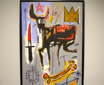 Jean-Michel Basquiat, Loin, 1982, photo ©Alexander Moers