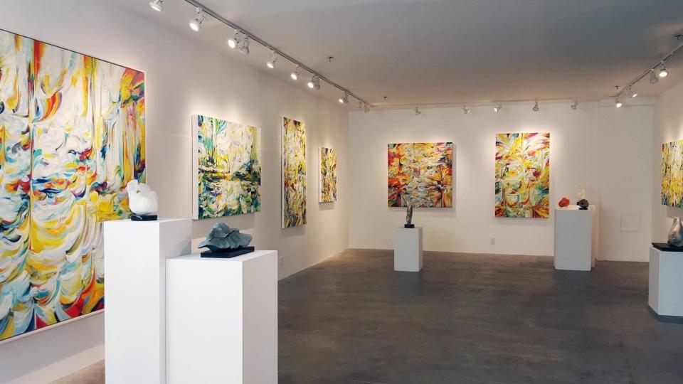 © Natalia Wrobel, Abigail Ogilvy Gallery Exhibition, 2016