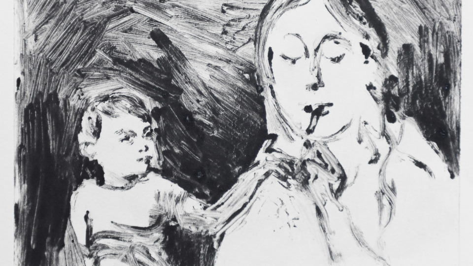 Nikoleta Martjanova, Mother and Child I, 2018, Mike Din