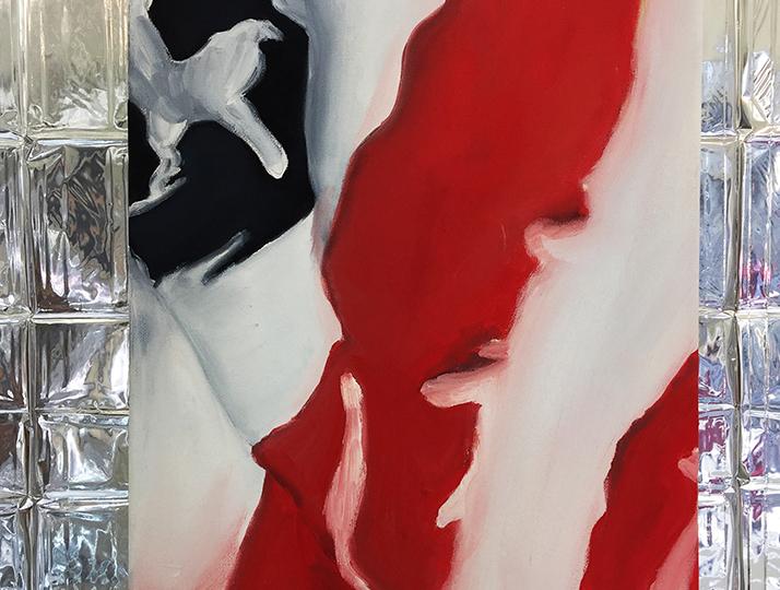 © Charlie Stein, American Flag (Gigi & Taylor), 2018, copyright Charlie Stein