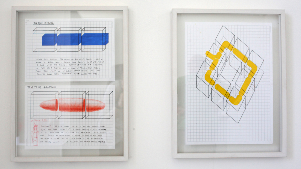 Matthew Rimmer. Diagrams (1&2) 2018. Photography by Declan Malone jpg