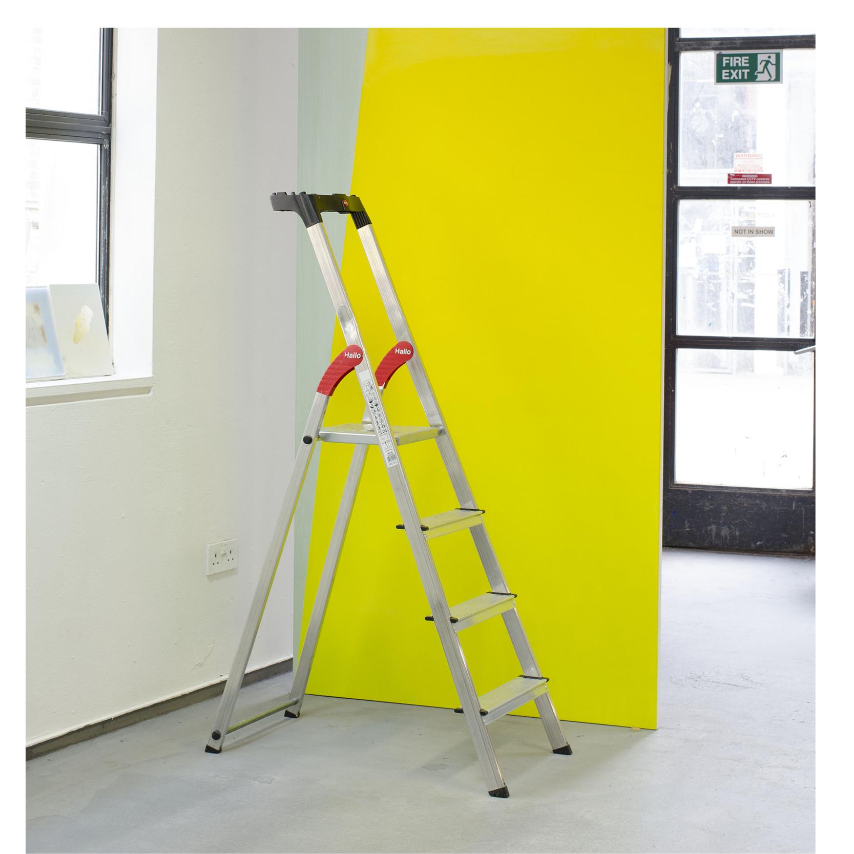 copyright Ahae Kim, A letter A ladder, 2018.