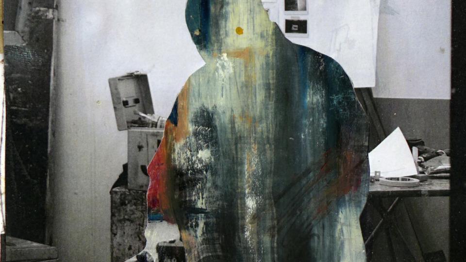 Carlos Herraiz, Study for Seated Man, 2015