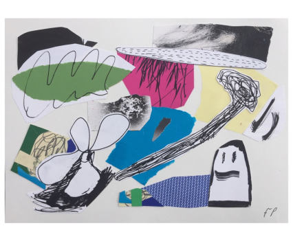 Fergus Polglase, collage A4, 2018