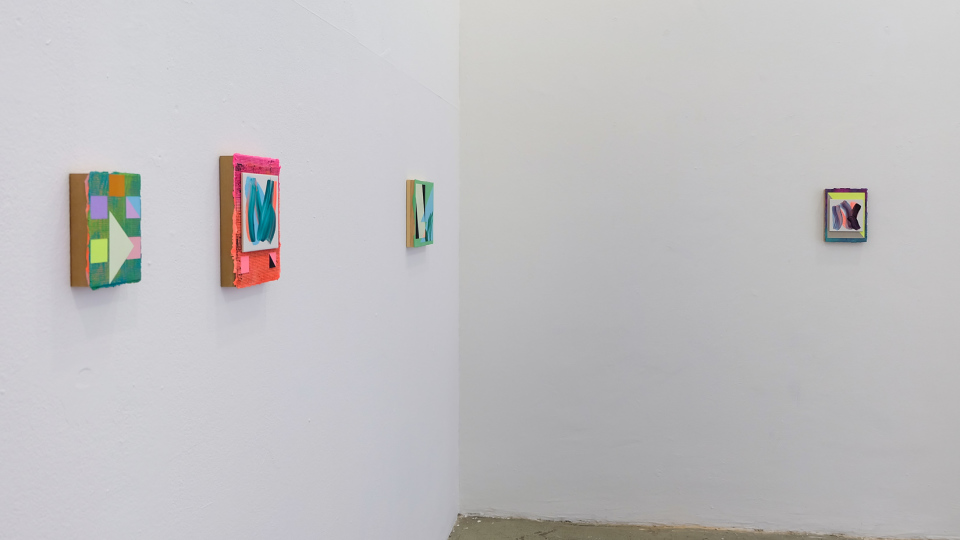 Lisa Denyer Installation image solo show at Volume Gallery Berlin 2018