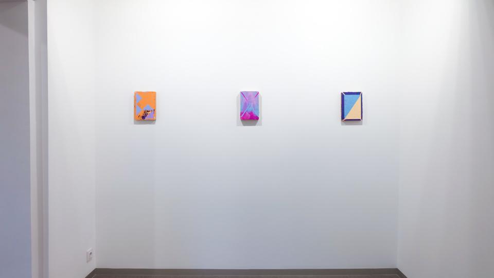 Lisa Denyer installation image at Kir Royal Gallery Madrid 2017