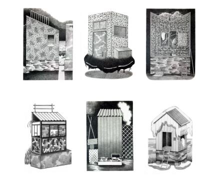 © Alexandra Müller, Series-Whimsical Houses, 2017-2018, photo Alexandra Müller