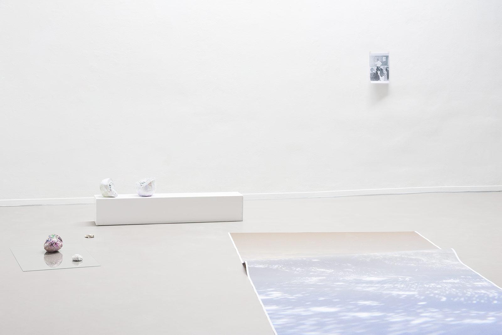 Eva Dittrich, slashslash, Exhibition view, 2015