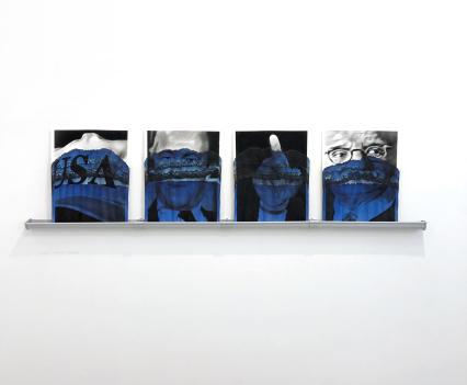© Valentin van der Meulen, Deep Blue, exhibition view Envisioning America curated by John Czaplicka, Hengevoss-Dürkop Gallery, Hamburg, 2019