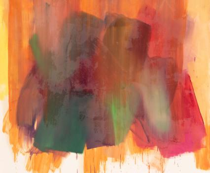 © Charlotte Hilbolt, untitled, 2019, oil on canvas, 200x200cm