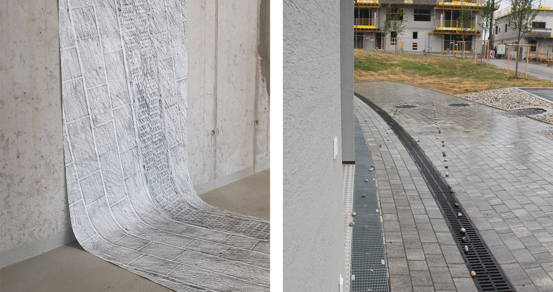 © Anna Schmoll, 10 squaremeters of newly built pavement, 2019, copyright Raphael Kajetan Krottenauer