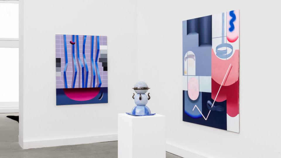 Anna Nero, Fingers in Many Pies installation view Berlin 2020 courtesy Galerie Feldbusch Wiesner Rudolp