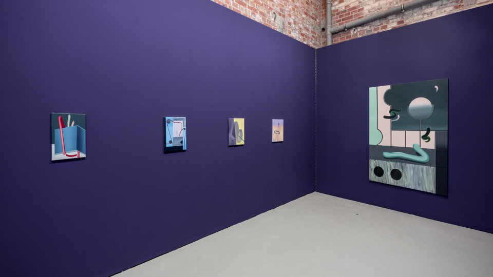 Anna Nero, Shiny, Shiny, installation view, SheBAM Leipzig, 2019 courtesy SheBAM